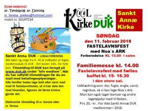 Sankt Annæ Kirke DUK og Noas ark - redigeret